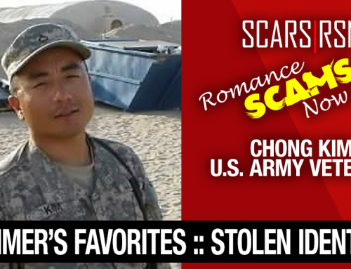 Stolen Face / Stolen Identity – Chong Kim – U.S. Army Veteran: Do You Know Him?