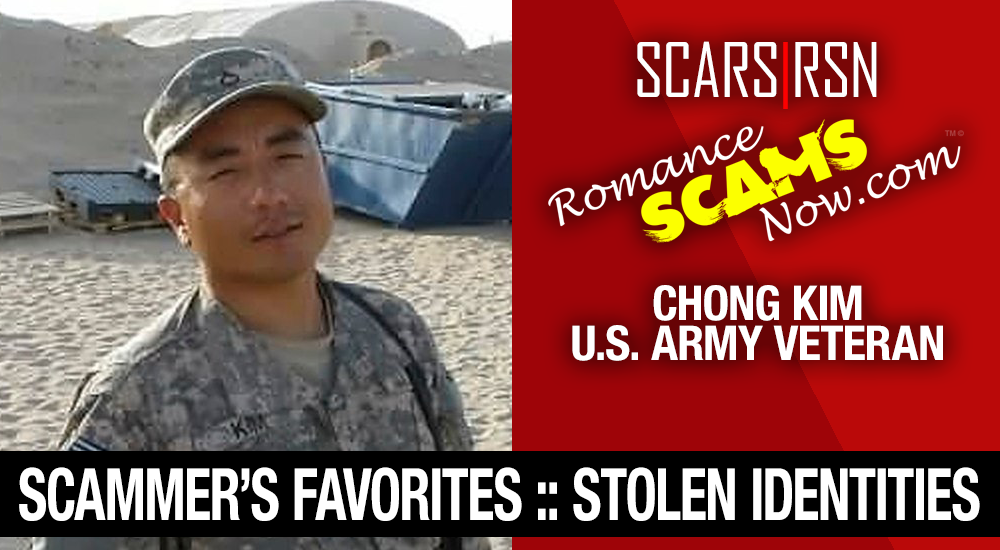 Stolen Face / Stolen Identity - Chong Kim - U.S. Army Veteran: Do You Know Him? 1