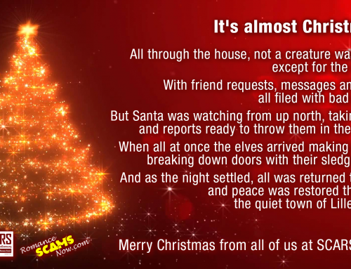 SCARS ™ / RSN™ Anti-Scam Poster: Christmas Poem