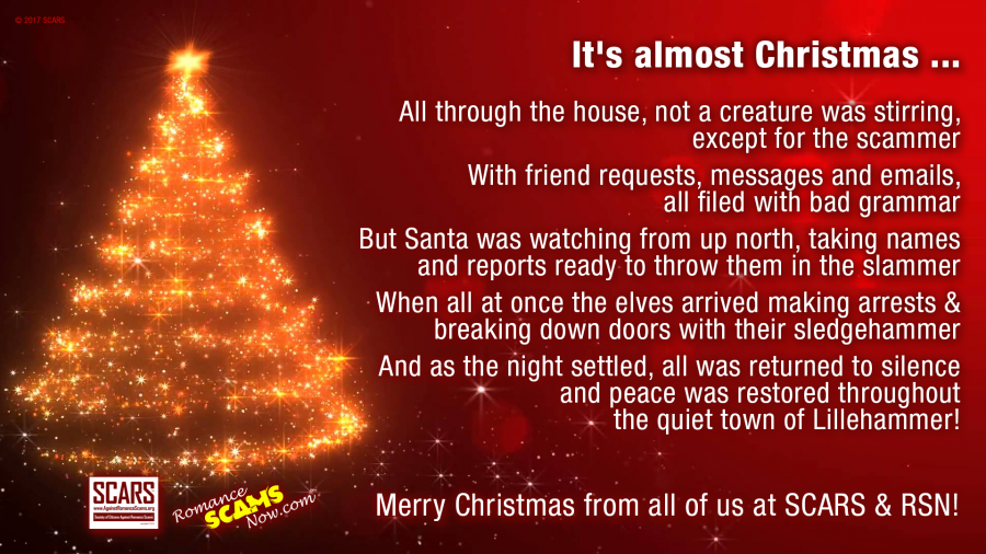 A Christmas Wish About Scammers - A Scammer Christmas Poem 1