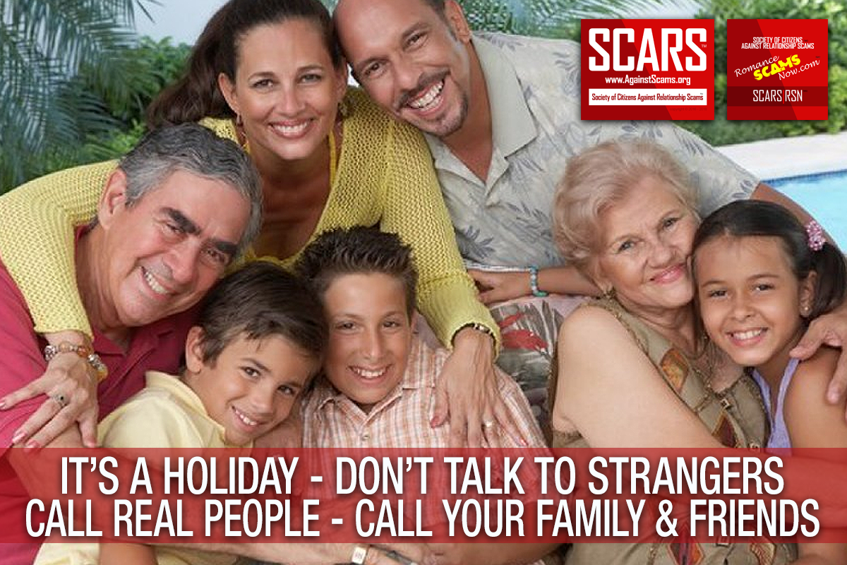 Talk To Real People This Holiday