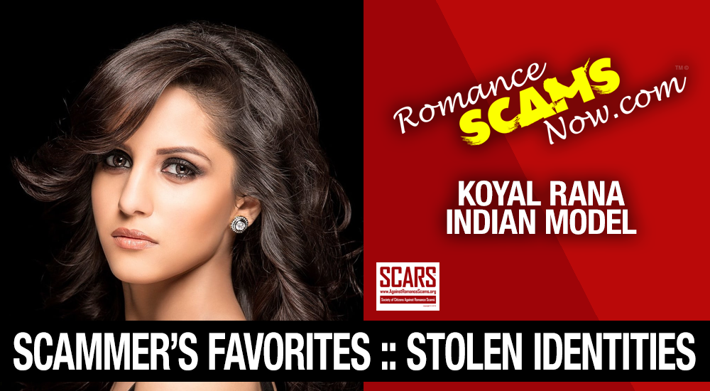Stolen Face / Stolen Identity - Koyal Rana : Have You Seen Her? 11