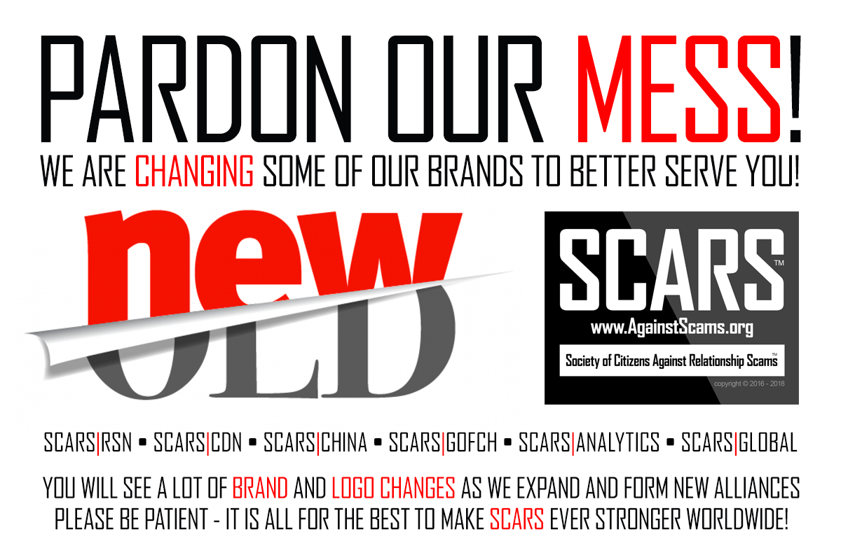 SCARS|RSN™ Anti-Scam Poster: Pardon Our Mess 38