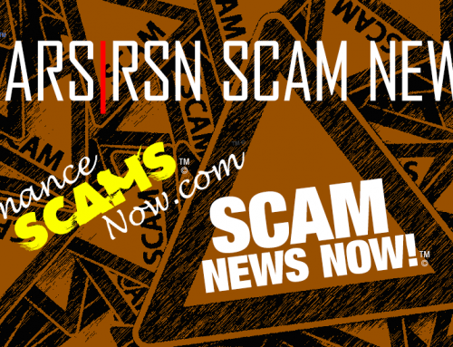 Only A Week Left – Avoid Tax Scams – SCARS|RSN™ SCAM NEWS