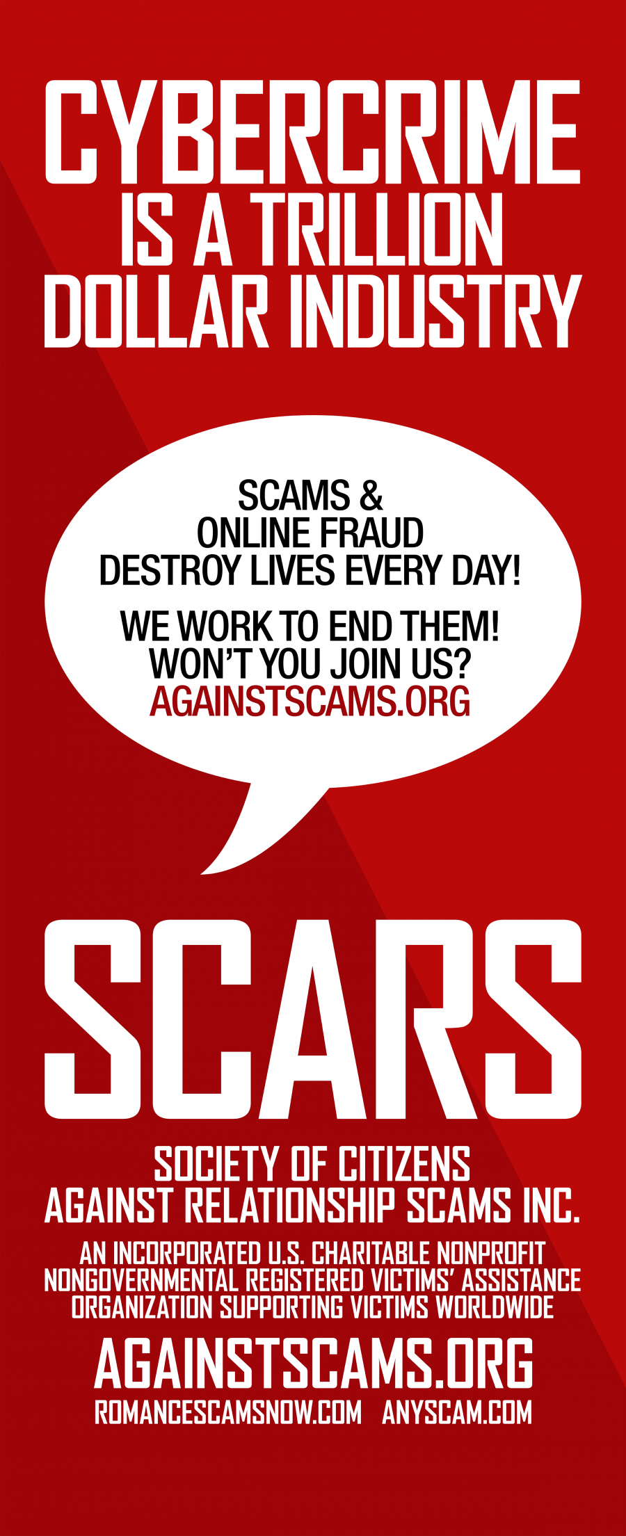 scars-ces-2019-pull-up-sign-red-background