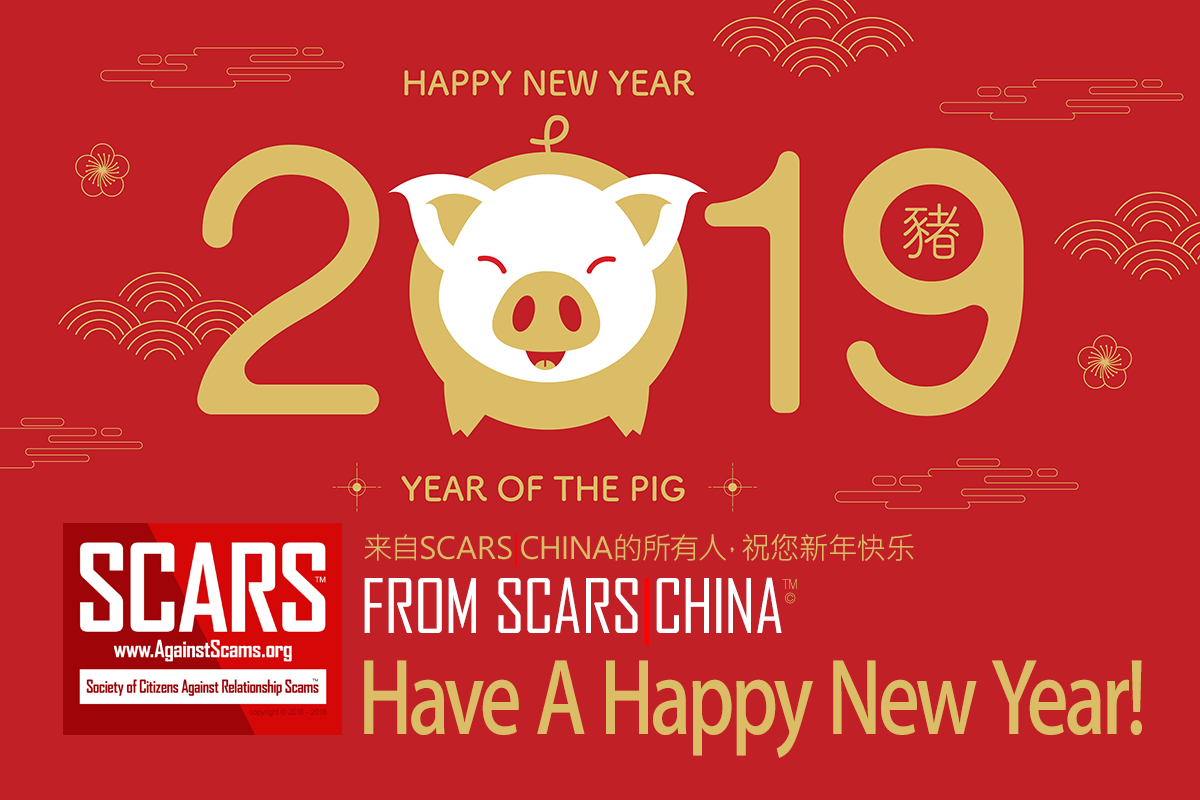 SCARS|RSN™ Anti-Scam Poster: Happy New Year From SCARS|CHINA 36