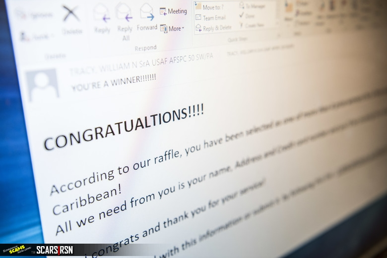 Example Phishing Scam