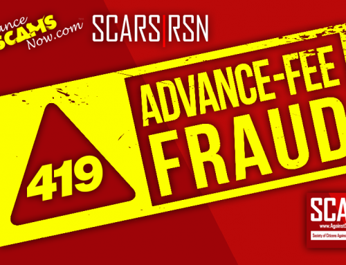 "SCARS|RSN™ Anti-Scam Tips: How To Avoid Nigerian Letter Or ""419"" Email Scams"