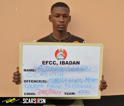 The Nigerian Economic and Financial Crimes Commission, EFCC, Arrests Another Romance Scammer