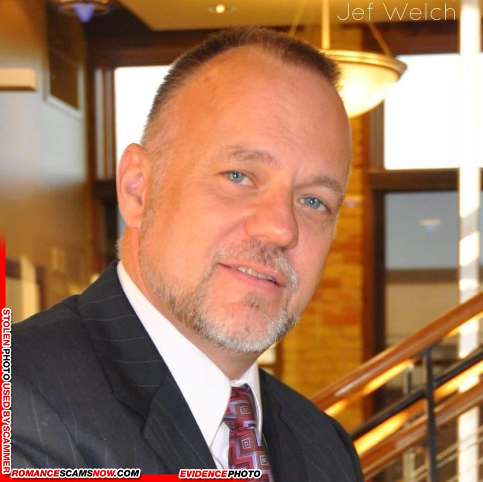 Jeffrey Jef Welch: Do You Know Him? Another Stolen Face / Stolen Identity 2