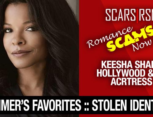 Keesha Sharp: Have You Seen Her? – Stolen Face / Stolen Identity