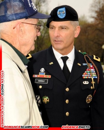 """General Anthony """"Tony"""" Cucolo: Do You Know Him? - Stolen Face / Stolen Identity 14"""