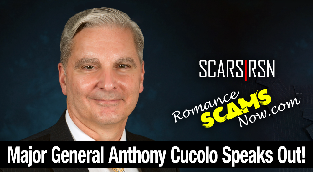 "Major General Anthony ""Tony"" Cucolo Speaks Out Against Scammers [VIDEO] 1"