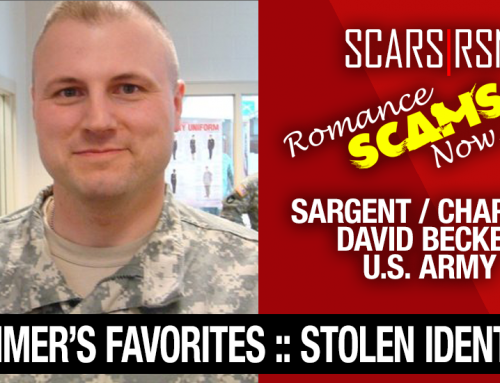 SCARS|RSN™ Stolen Face / Stolen Identity – Sargent / Chaplain David Becker U.S. Army: Do You Know Him?