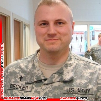 SCARS|RSN™ Stolen Face / Stolen Identity - Sargent / Chaplain David Becker U.S. Army: Do You Know Him? 10
