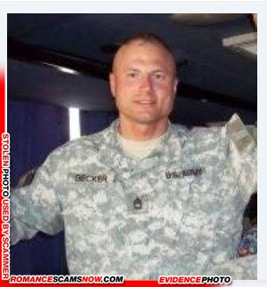 SCARS|RSN™ Stolen Face / Stolen Identity - Sargent / Chaplain David Becker U.S. Army: Do You Know Him? 11