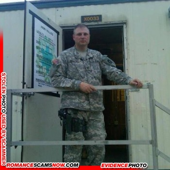SCARS|RSN™ Stolen Face / Stolen Identity - Sargent / Chaplain David Becker U.S. Army: Do You Know Him? 7