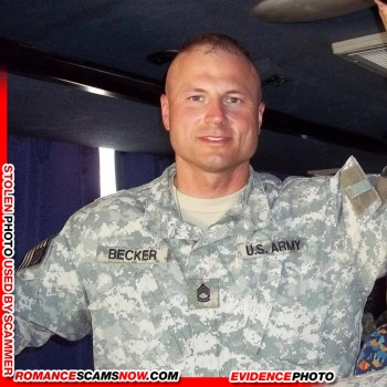 SCARS|RSN™ Stolen Face / Stolen Identity - Sargent / Chaplain David Becker U.S. Army: Do You Know Him? 6