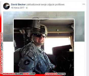 SCARS|RSN™ Stolen Face / Stolen Identity - Sargent / Chaplain David Becker U.S. Army: Do You Know Him? 5