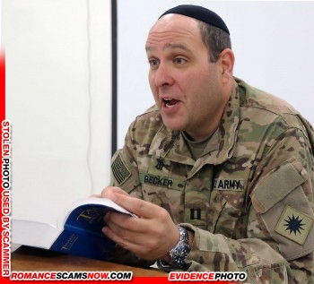 SCARS|RSN™ Stolen Face / Stolen Identity - Sargent / Chaplain David Becker U.S. Army: Do You Know Him? 24