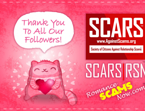 Thank You To All Of Our Followers – SCARS|RSN™ Anti-Scam Poster
