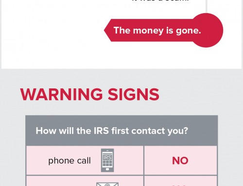 Official FTC IRS Imposter Scams Infographic – SCARS|RSN™ Anti-Scam Poster