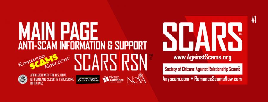 SCARS RSN Romance Scams Now Romancescamsnow.com : Main Page #1