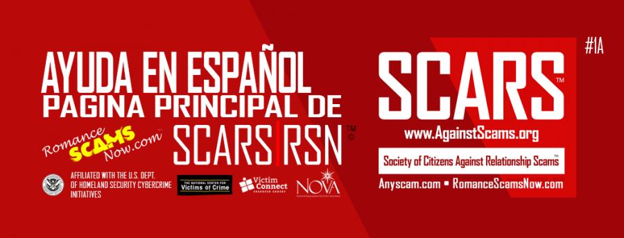 SCARS / RSN Página Principal en Español #1a::: Romancescamsnow.com de SCARS