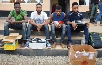 19 Nigerian Internet Fraudsters Arrested - SCARS|RSN™ Special Report 10
