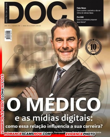 Dr. Fernando Gomes Pinto: Do You Know Him? Another Stolen Face / Stolen Identity 24