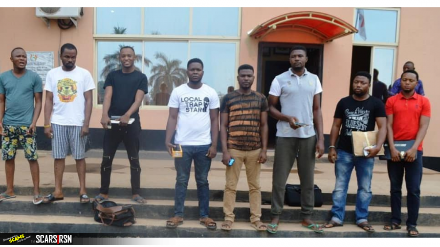 8 More Nigerian Scammers Go Down