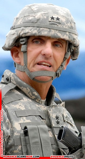 Lieutenant General Mark Hertling: Do You Know Him? Another Stolen Face / Stolen Identity 10