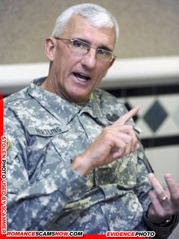 Lieutenant General Mark Hertling: Do You Know Him? Another Stolen Face / Stolen Identity 9