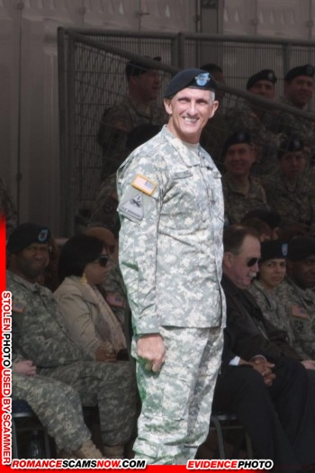 Lieutenant General Mark Hertling: Do You Know Him? Another Stolen Face / Stolen Identity 31