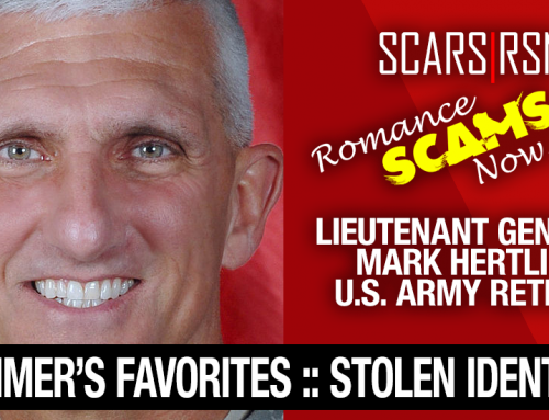 Lieutenant General Mark Hertling: Do You Know Him? Another Stolen Face / Stolen Identity