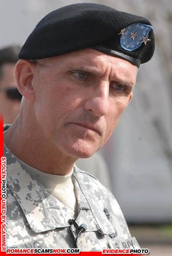 Lieutenant General Mark Hertling: Do You Know Him? Another Stolen Face / Stolen Identity 29