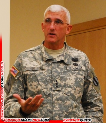 Lieutenant General Mark Hertling: Do You Know Him? Another Stolen Face / Stolen Identity 22