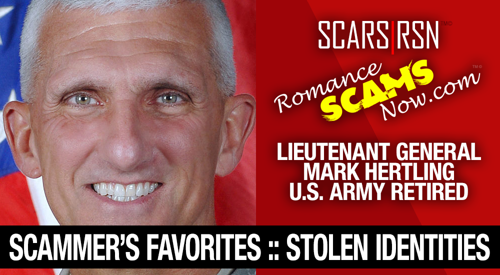 Lieutenant General Mark Hertling: Do You Know Him? Another Stolen Face / Stolen Identity 2