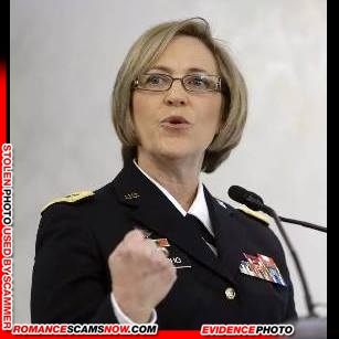 Lt. General Patricia D. Horoho: Have You Seen Her? Another Stolen Face / Stolen Identity 22