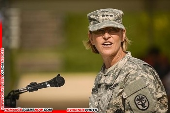 Lt. General Patricia D. Horoho: Have You Seen Her? Another Stolen Face / Stolen Identity 4