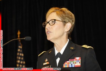 Lt. General Patricia D. Horoho: Have You Seen Her? Another Stolen Face / Stolen Identity 20