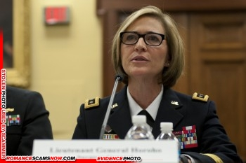 Lt. General Patricia D. Horoho: Have You Seen Her? Another Stolen Face / Stolen Identity 6