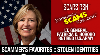 Lt. General Patricia D. Horoho: Have You Seen Her? Another Stolen Face / Stolen Identity
