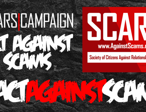 ACT AGAINST SCAMS! – SCARS™ Campaign – Call To Action