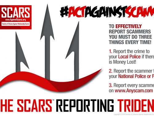 SCARS Reporting Trident Infographic – SCARS|RSN™ Anti-Scam Poster