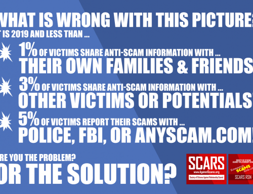 What's Wrong With This Picture? – SCARS™ Anti-Scam Poster