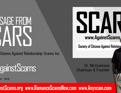 Why Report Scams? – SCARS|RSN™ Quick Commentary