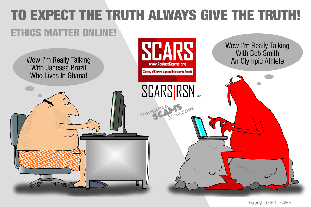 Telling The Truth And Online Ethics Matter