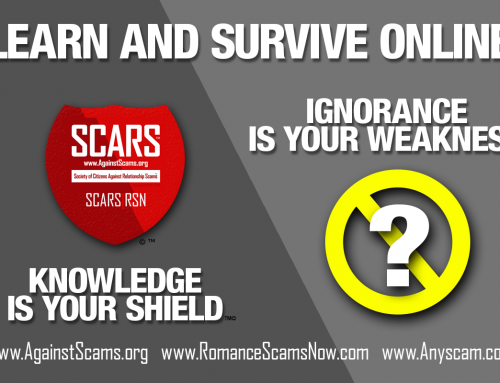Knowledge Is Your Shield – SCARS|RSN™ Anti-Scam Poster