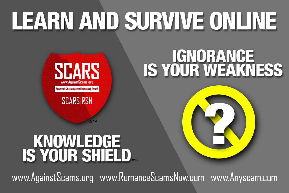 Knowledge Is Your Shield - SCARS|RSN™ Anti-Scam Poster 35